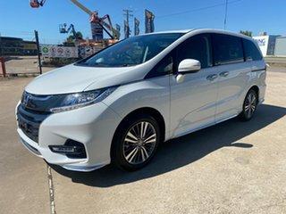 2019 Honda Odyssey RC MY20 VTi-L White/300319 7 Speed Constant Variable Wagon