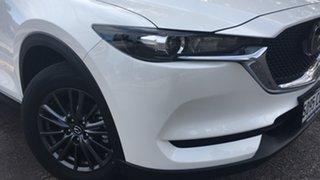 2021 Mazda CX-5 KF2W7A Maxx SKYACTIV-Drive FWD White Pearl 6 Speed Sports Automatic Wagon.