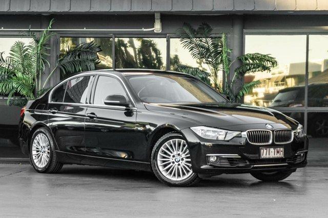 Used BMW 320i F30 MY0813 320i Bowen Hills, 2013 BMW 320i F30 MY0813 320i Black 8 Speed Sports Automatic Sedan