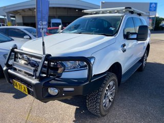 2016 Ford Everest EVEREST 2015.75 Cool White 6 Speed Automatic SUV.