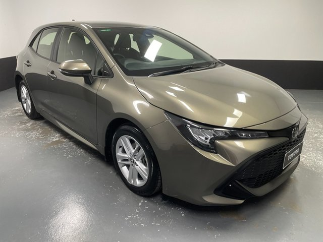 Used Toyota Corolla Mzea12R Ascent Sport Rutherford, 2018 Toyota Corolla Mzea12R Ascent Sport Bronze 10 Speed Constant Variable Hatchback