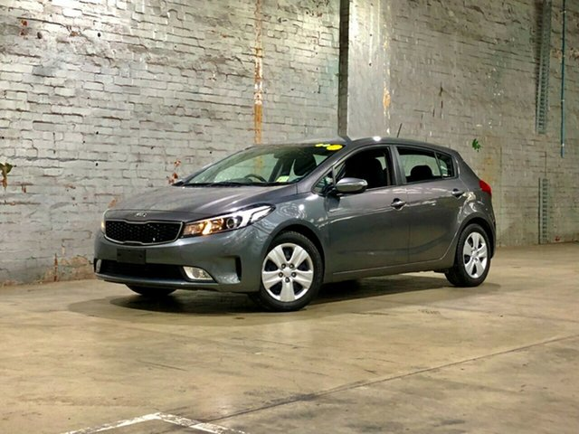 Used Kia Cerato YD MY18 S Brooklyn, 2018 Kia Cerato YD MY18 S Grey 6 Speed Sports Automatic Hatchback