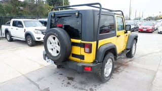 2009 Jeep Wrangler JK MY2010 Sport Yellow 6 Speed Manual Softtop
