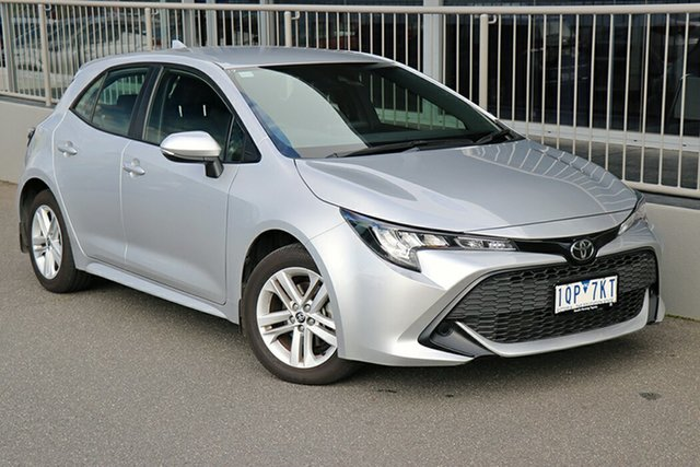 Pre-Owned Toyota Corolla Mzea12R Ascent Sport Preston, 2019 Toyota Corolla Mzea12R Ascent Sport Silver 10 Speed Constant Variable Hatchback