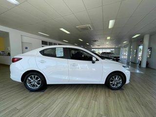 2021 Mazda 2 Q G15 Pure White 6 Speed Automatic Sedan