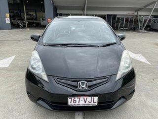 2010 Honda Jazz GE MY10 GLi Black 5 Speed Automatic Hatchback.