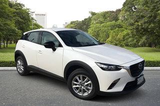2021 Mazda CX-3 DK2W7A Maxx SKYACTIV-Drive FWD Sport LE White Pearl 6 Speed Sports Automatic Wagon.