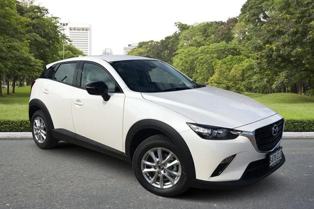 Demo Mazda CX-3 DK2W7A Maxx SKYACTIV-Drive FWD Sport LE Paradise, 2021 Mazda CX-3 DK2W7A Maxx SKYACTIV-Drive FWD Sport LE White Pearl 6 Speed Sports Automatic Wagon