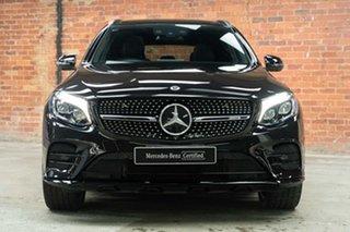 2017 Mercedes-Benz GLC-Class X253 808MY GLC43 AMG 9G-Tronic 4MATIC Obsidian Black 9 Speed.