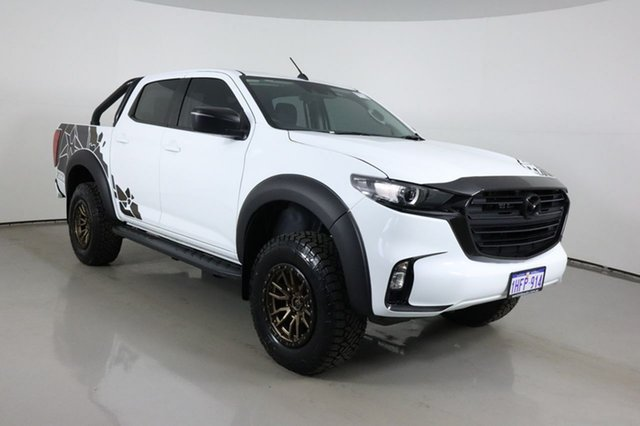 Used Mazda BT-50 B30B XT (4x4) Bentley, 2020 Mazda BT-50 B30B XT (4x4) White 6 Speed Automatic Dual Cab Pick-up