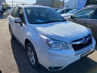 2015 Subaru Forester S4 MY15 2.5i-L CVT AWD White 6 Speed Constant Variable Wagon.