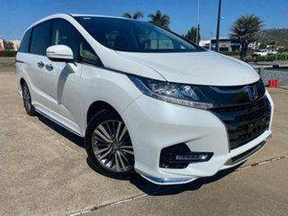 2019 Honda Odyssey RC MY20 VTi-L White/300319 7 Speed Constant Variable Wagon.