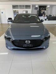 2021 Mazda 3 N G20 Evolve Grey 6 Speed Automatic Hatchback.