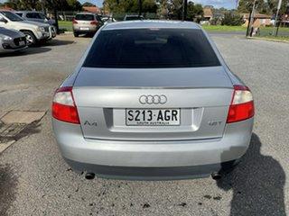 2002 Audi A4 B6 Multitronic Silver 1 Speed Constant Variable Sedan