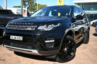 2016 Land Rover Discovery Sport LC MY16 HSE Black 9 Speed Automatic Wagon.