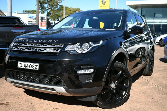 Used Land Rover Discovery Sport LC MY16 HSE Brookvale, 2016 Land Rover Discovery Sport LC MY16 HSE Black 9 Speed Automatic Wagon