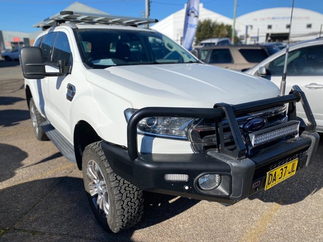Used Ford Everest Wickham, 2016 Ford Everest EVEREST 2015.75 Cool White 6 Speed Automatic SUV