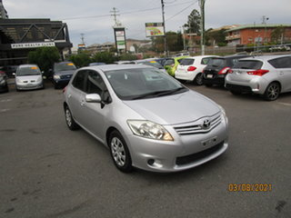 2010 Toyota Corolla ZRE152R MY11 Ascent Silver 4 Speed Automatic Hatchback.