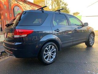 2012 Ford Territory SZ Titanium Seq Sport Shift Navy Blue 6 Speed Sports Automatic Wagon.