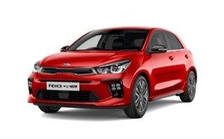 2021 Kia Rio YB MY22 GT-Line DCT Signal Red 7 Speed Sports Automatic Dual Clutch Hatchback
