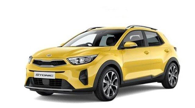 New Kia Stonic YB MY21 Sport FWD Hamilton, 2021 Kia Stonic YB MY21 Sport FWD Mighty Yellow 6 Speed Automatic Wagon
