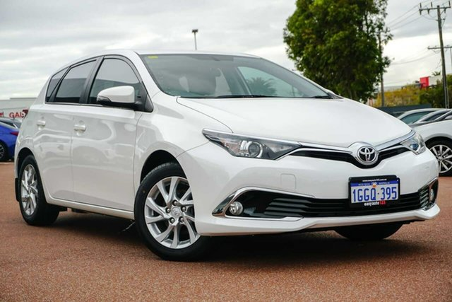 Used Toyota Corolla ZRE182R Ascent Sport S-CVT Osborne Park, 2016 Toyota Corolla ZRE182R Ascent Sport S-CVT White 7 Speed Constant Variable Hatchback