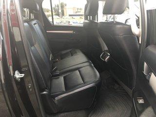 2018 Toyota Hilux GUN126R SR5 Double Cab Eclipse Black 6 Speed Sports Automatic Utility