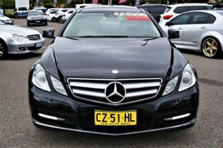 2011 Mercedes-Benz E-Class C207 E250 CGI Elegance Black 5 Speed Sports Automatic Coupe.