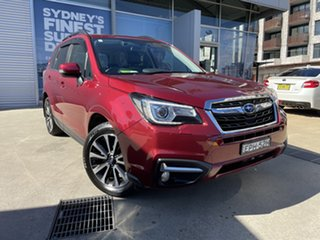 2017 Subaru Forester MY18 2.5I-S Red Continuous Variable Wagon.