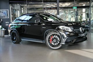 2019 Mercedes-Benz GLE-Class C292 MY809 GLE63 AMG Coupe SPEEDSHIFT PLUS 4MATIC S Black 7 Speed.