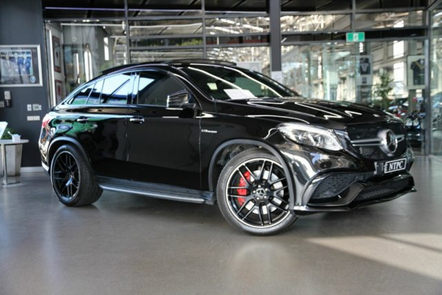 Used Mercedes-Benz GLE-Class C292 MY809 GLE63 AMG Coupe SPEEDSHIFT PLUS 4MATIC S North Melbourne, 2019 Mercedes-Benz GLE-Class C292 MY809 GLE63 AMG Coupe SPEEDSHIFT PLUS 4MATIC S Black 7 Speed