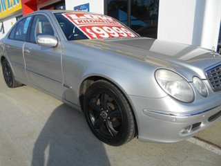 2005 Mercedes-Benz E-Class W211 E240 Elegance Silver 5 Speed Sports Automatic Sedan.