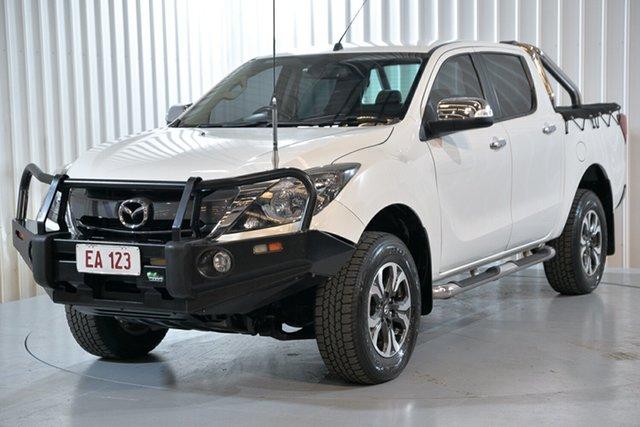 Used Mazda BT-50 MY16 GT (4x4) Hendra, 2017 Mazda BT-50 MY16 GT (4x4) White 6 Speed Automatic Dual Cab Utility
