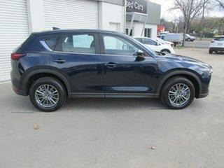 2017 Mazda CX-5 KF4W2A Touring SKYACTIV-Drive i-ACTIV AWD Blue 6 Speed Sports Automatic Wagon.