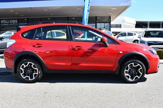 2016 Subaru XV G4X MY17 2.0i Lineartronic AWD Special Edition Pure Red 6 Speed Constant Variable