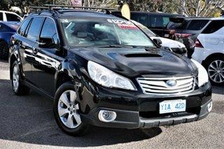 2010 Subaru Outback B5A MY10 2.0D AWD Premium Black 6 Speed Manual Wagon.