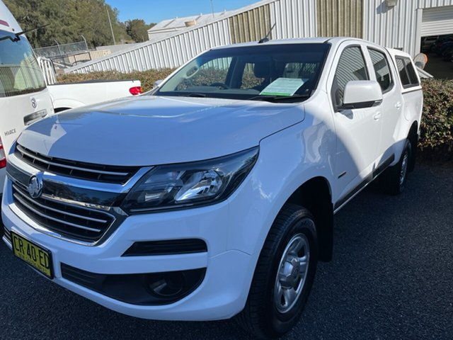 Used Holden Colorado RG MY18 LS Pickup Crew Cab 4x2 Maitland, 2018 Holden Colorado RG MY18 LS Pickup Crew Cab 4x2 White 6 Speed Sports Automatic Utility