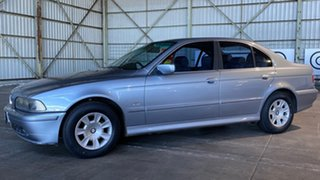 2001 BMW 5 Series E39 MY01 525i Steptronic Executive Silver 5 Speed Sports Automatic Sedan.