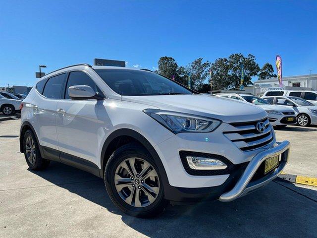 Used Hyundai Santa Fe DM MY13 Active Glendale, 2013 Hyundai Santa Fe DM MY13 Active White 6 Speed Sports Automatic Wagon