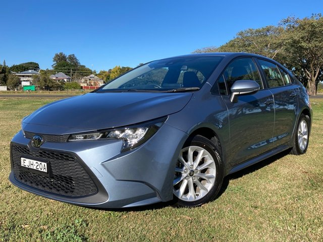 Used Toyota Corolla Mzea12R Ascent Sport South Grafton, 2020 Toyota Corolla Mzea12R Ascent Sport Celestite Grey 10 Speed Constant Variable Sedan