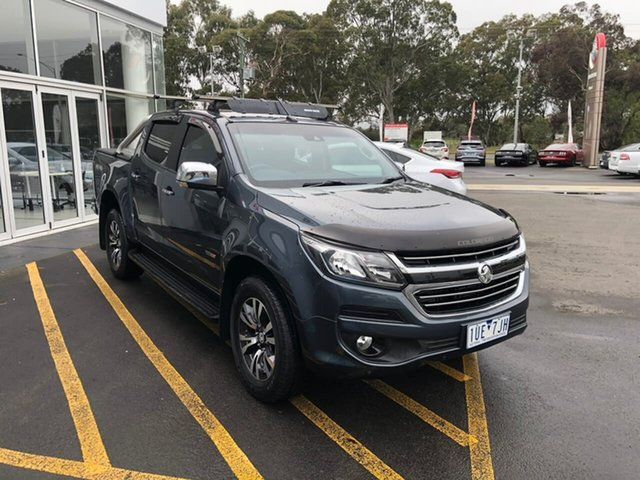 Used Holden Colorado RG MY19 LTZ Pickup Crew Cab Epsom, 2018 Holden Colorado RG MY19 LTZ Pickup Crew Cab Grey 6 Speed Sports Automatic Utility