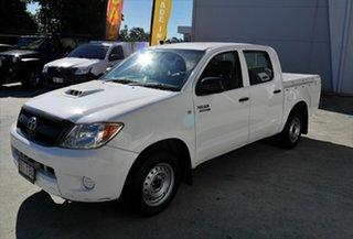 2008 Toyota Hilux KUN16R MY09 SR 4x2 White 5 Speed Manual Utility.