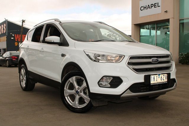 Used Ford Escape ZG Trend (FWD) West Footscray, 2017 Ford Escape ZG Trend (FWD) White 6 Speed Automatic Wagon