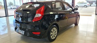 2016 Hyundai Accent RB4 MY16 Active Black 6 Speed Constant Variable Hatchback