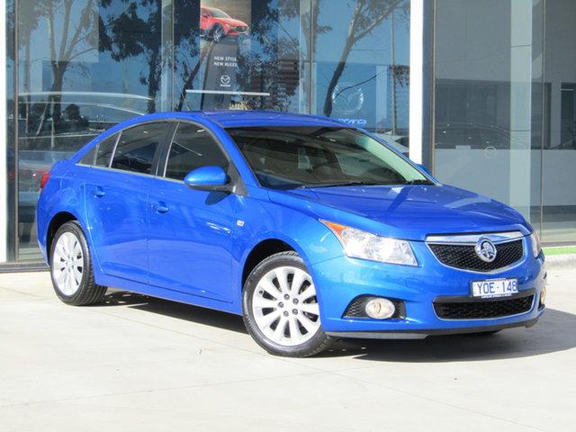 Used Holden Cruze JH Series II MY11 CDX Ravenhall, 2011 Holden Cruze JH Series II MY11 CDX Blue 6 Speed Sports Automatic Sedan