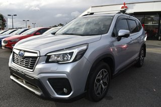 2019 Subaru Forester S5 MY19 2.5i-L CVT AWD Billet Silver 7 Speed Constant Variable Wagon.