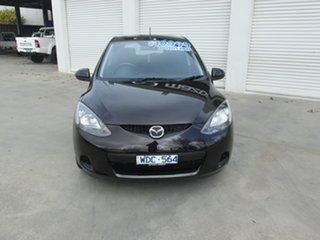 2007 Mazda 2 DE10Y1 Maxx Radiant Ebony 4 Speed Automatic Hatchback.