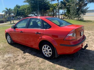 2008 Ford Focus Red Automatic Sedan