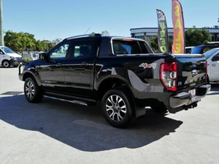 2017 Ford Ranger PX MkII Wildtrak Double Cab Black 6 Speed Sports Automatic Utility