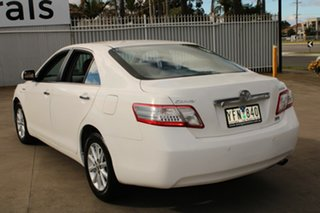 2011 Toyota Camry AHV40R Hybrid White Continuous Variable Sedan